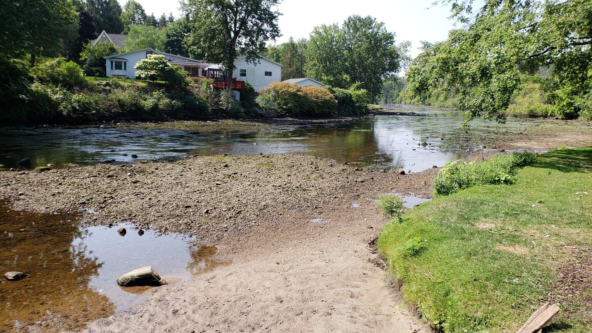 Flat River near Belding from Mike Brady Low Water 8 11 18_1534119473658.jpg.jpg