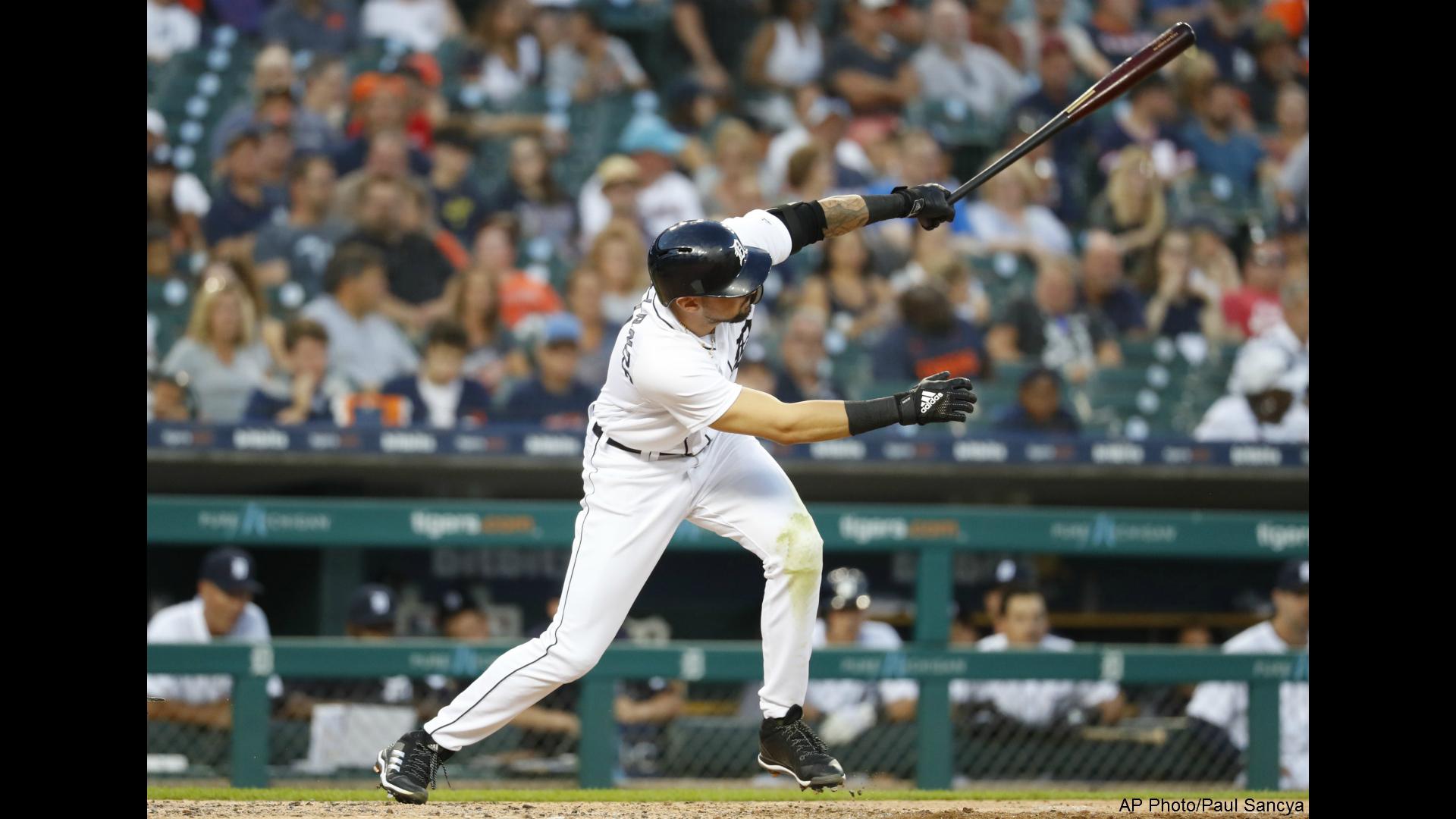 Detroit Tigers Nicholas Castellanos 081318 AP _1534211588614