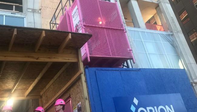 pink elevator sue snyder Kalamazoo 091218_1536785743298.JPG.jpg