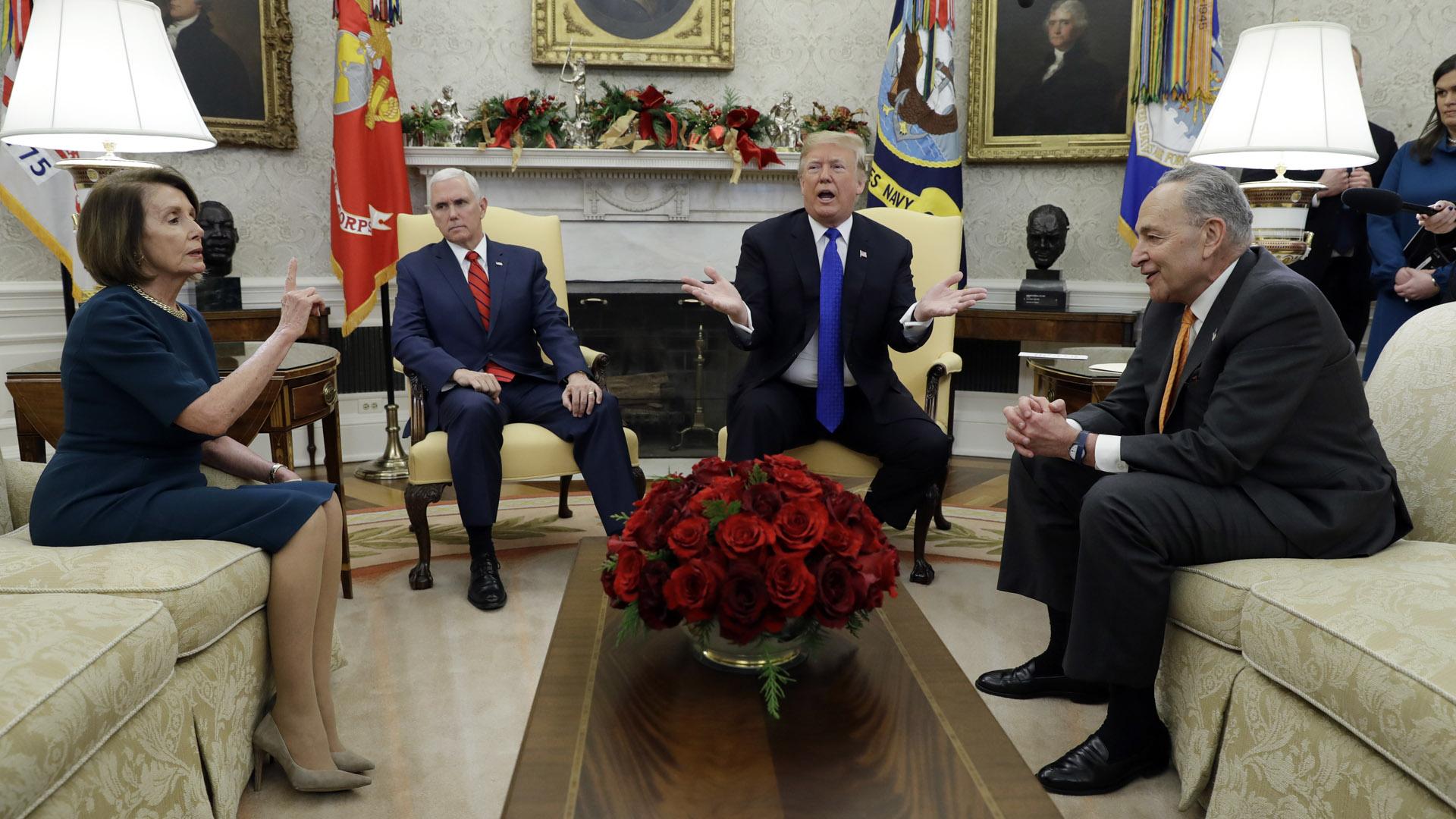 president donald trump democratic leaders white house 121118 AP_1545009183299