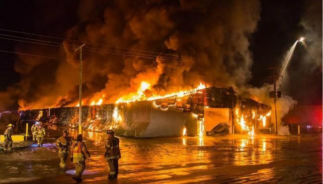 Montcalm Township storage building fire Cory Smith Daily News 010219_1546445166439.JPG.jpg