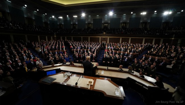 Donald Trump State of the Union 013018_469700