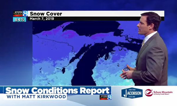 Snow Conditions Report: March 7, 2019