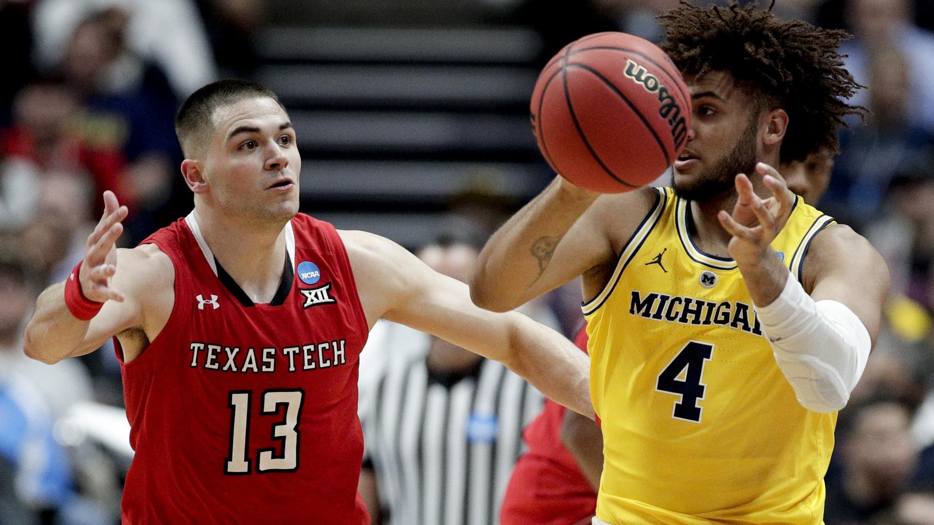 Michigan Texas Tech NCAA Tournament 032819 AP_1553827316379