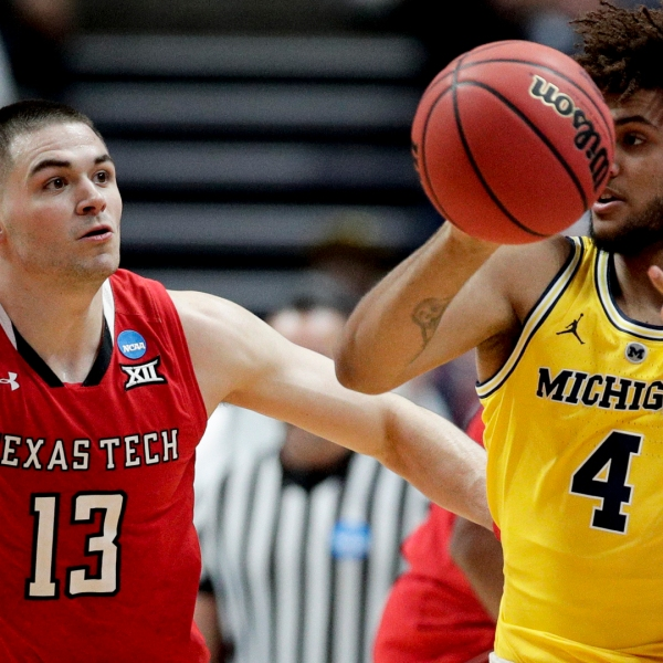 Michigan Texas Tech NCAA Tournament 032819 AP_1553827316379