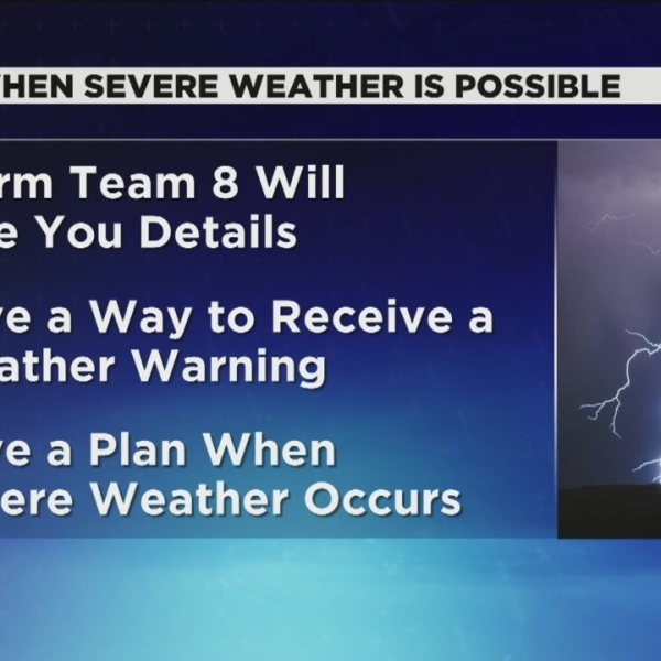Severe Weather Awareness Week culminates with tornado drill