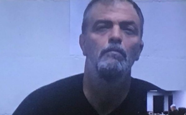 A undated booking photo of Gary Birkhead.