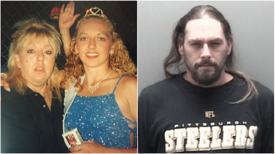 Undated photos of Beverly McCallum and Dineane Ducharme, left, and Christopher McMillan, right.