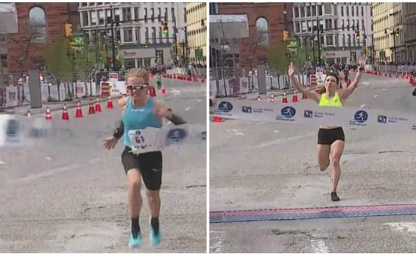 Amway River Bank Run 25K winners Parker Stinson Emma Bates 051119_1557582681684.jpg.jpg