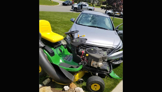 Holland township car his mower 053119_1559335502041.png.jpg