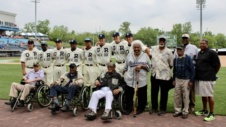 West Michigan Whitecaps Negro leagues memorial game