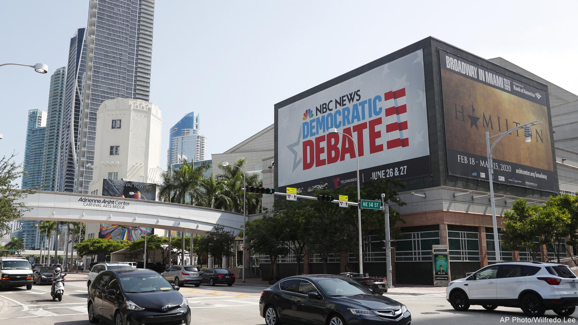 NBC Democratic presidential primary debate