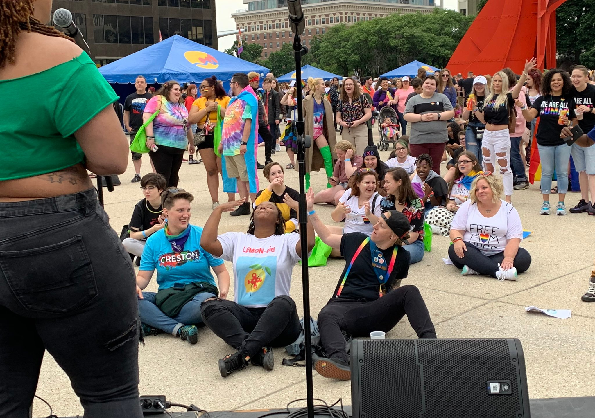 A photo from Grand Rapids Pride Festival. (June 15, 2019)
