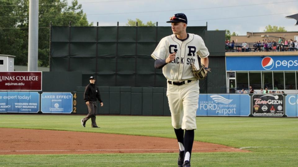West Michigam Whitecaps in Grand Rapids Black Sox uniforms