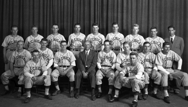 1948 University of Michigan baseball team