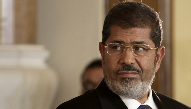 Egypt TV: Ousted president Morsi dies in court
