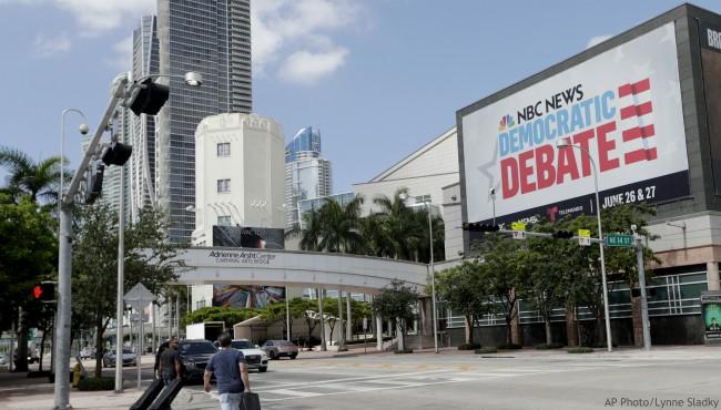 NBC News Democratic Debate AP 062519