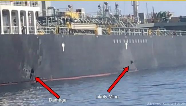 Persian Gulf tanker explosion AP 061419