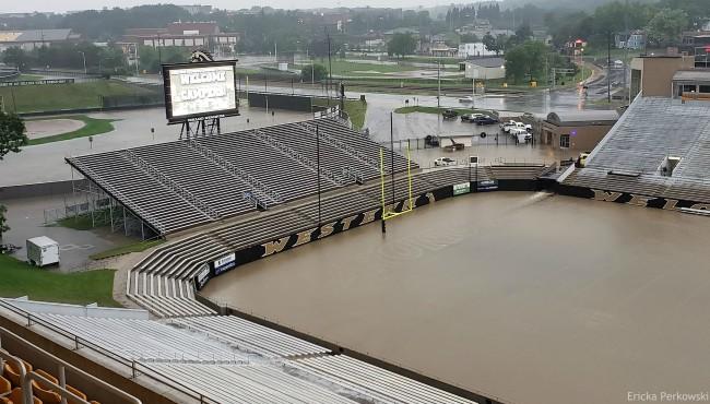 Waldo Stadium Flooding
