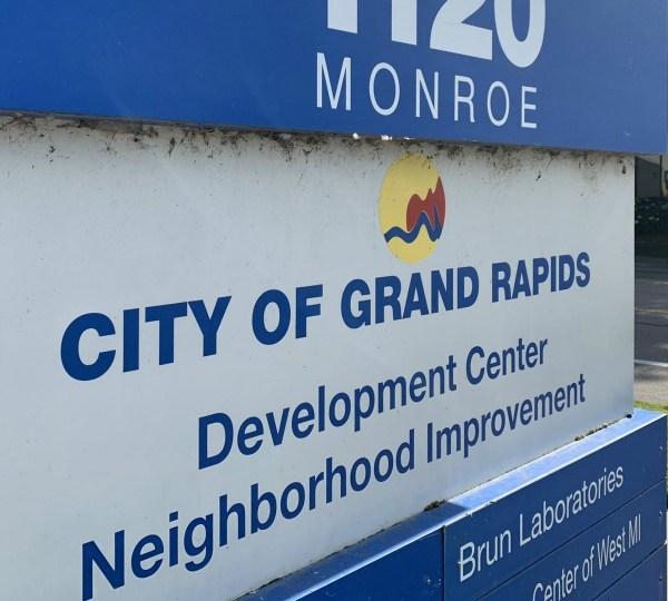 grand rapids development center neighborhood improvement