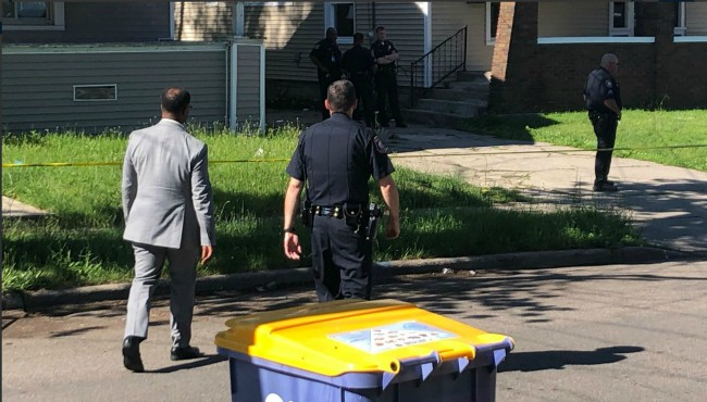 Grand Rapids city manager at shooting scene