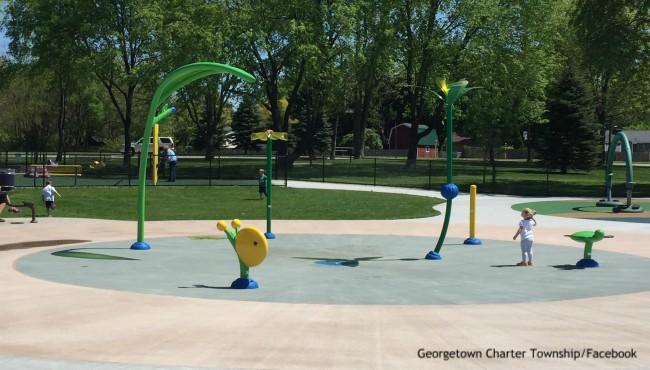Rosewood Park splash pad