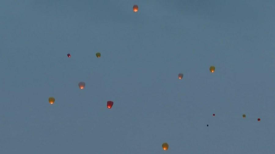 Sydney Carfine lantern release