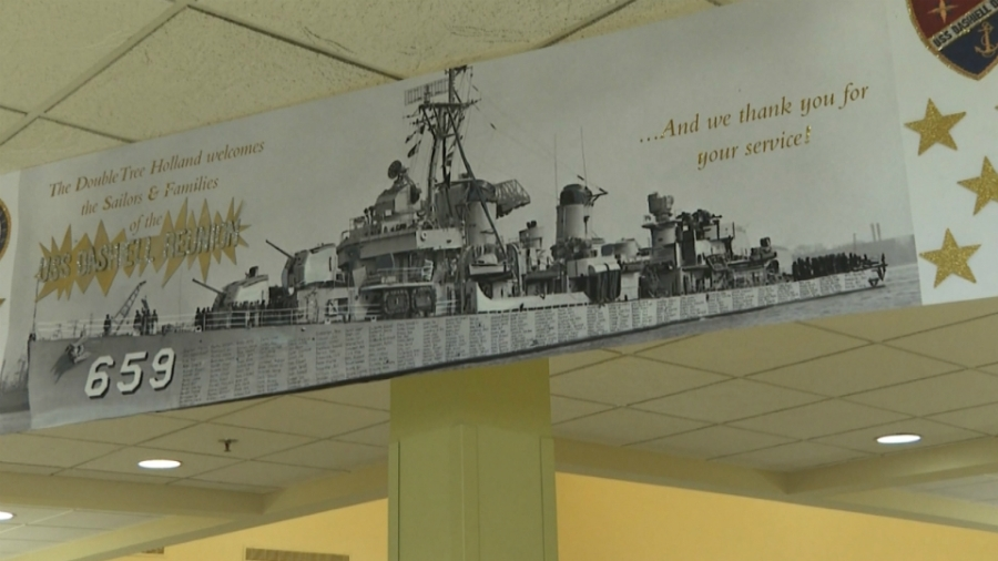 USS Dashiell reunion