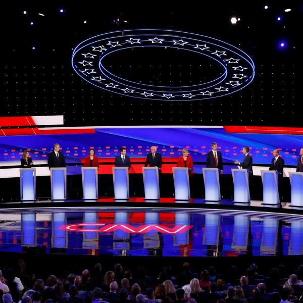 Detroit Democratic presidential debate