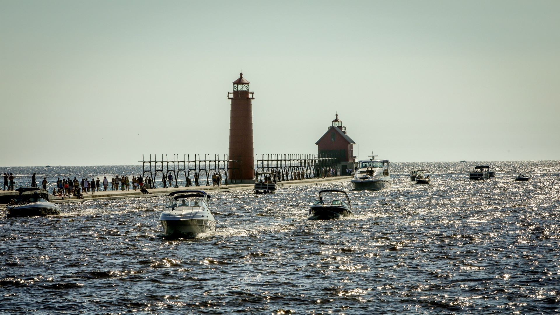 Grand Haven channel
