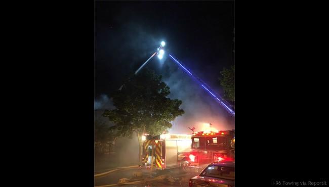Ionia house fire