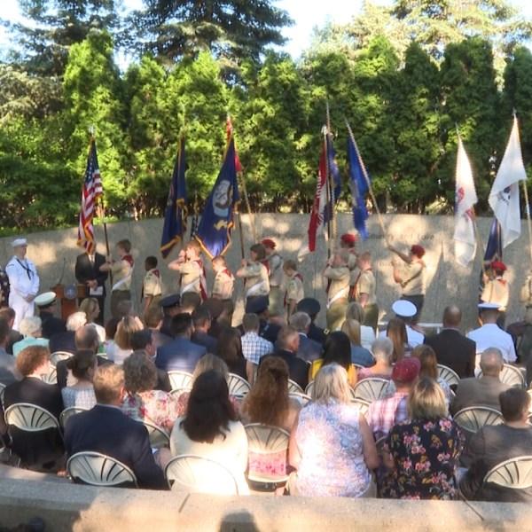 President Gerald R. Ford 106th birthday ceremony