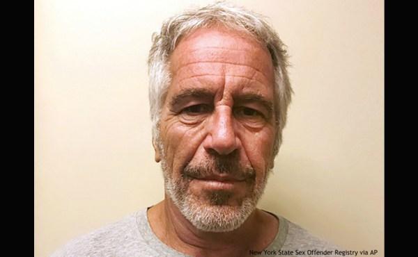 Jeffrey Epstein booking photo