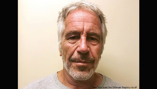 Jeffrey Epstein booking photo