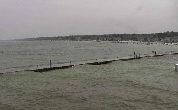 Lake Michigan in South Haven