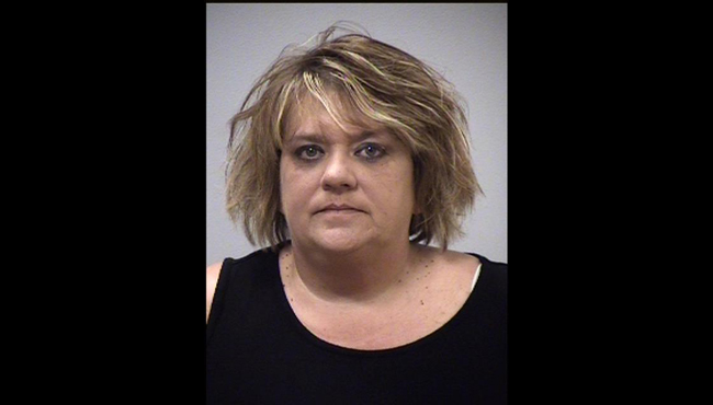 An undated booking photo of Marcie Copeland. (Courtesy of the Kalamazoo County Sheriff's Office)