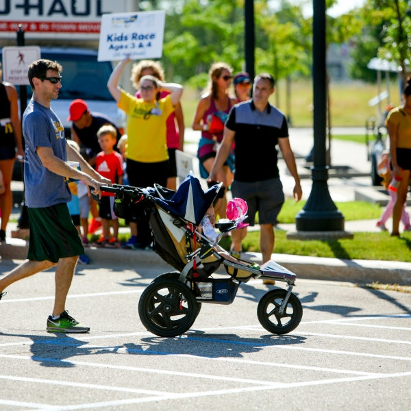 People of all ages participated in Metro Health's Metro Way races on Thursday. The event included a kid, 5K and 10K races. (Michael Buck/WOOD TV8)