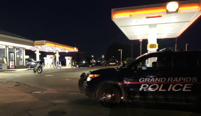grand rapids east beltline gas station shooting