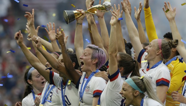US celebrates Women's World Cup victory