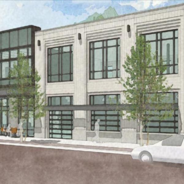 wealthy and fuller grocery store rendering