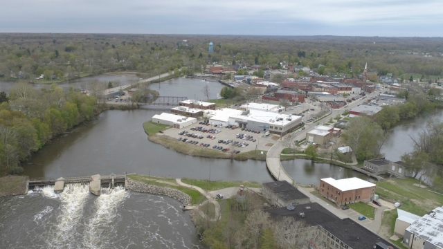 Allegan may take out dam, add riverside park