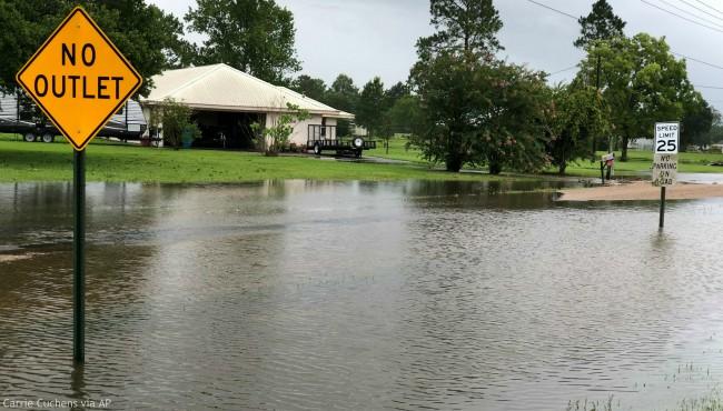 floodwaters Louisiana