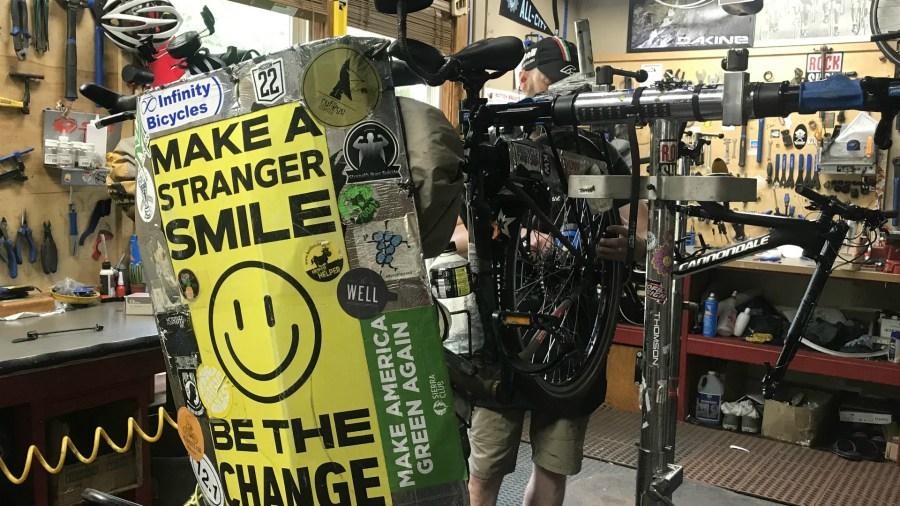 Daniel Hurd bicycle repair