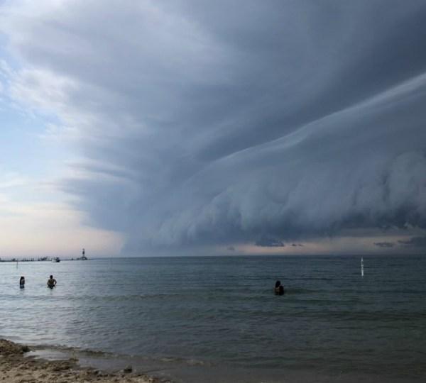 thunderstorm holland state park