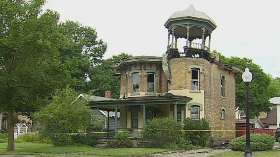 Ionia historic house fire
