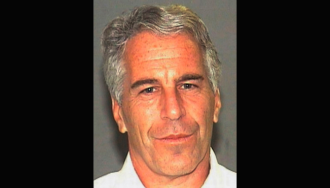 Jeffrey Epstein 2006 booking photo