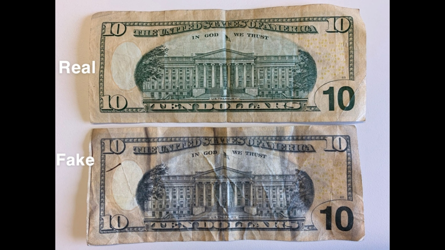 kalamazoo counterfeit money