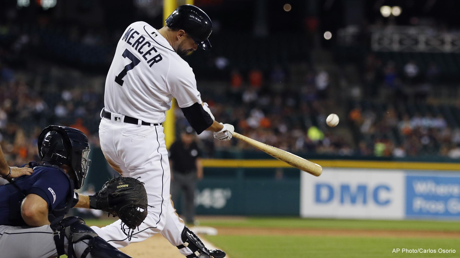 Detroit Tigers Jordy Mercer