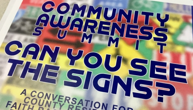 'Can You See the Signs?' summit coming to Grand Rapids