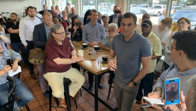 Amash hopes voters will go beyond issue differences